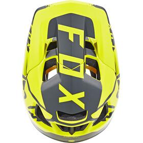Fox Proframe Moth Fietshelm geel